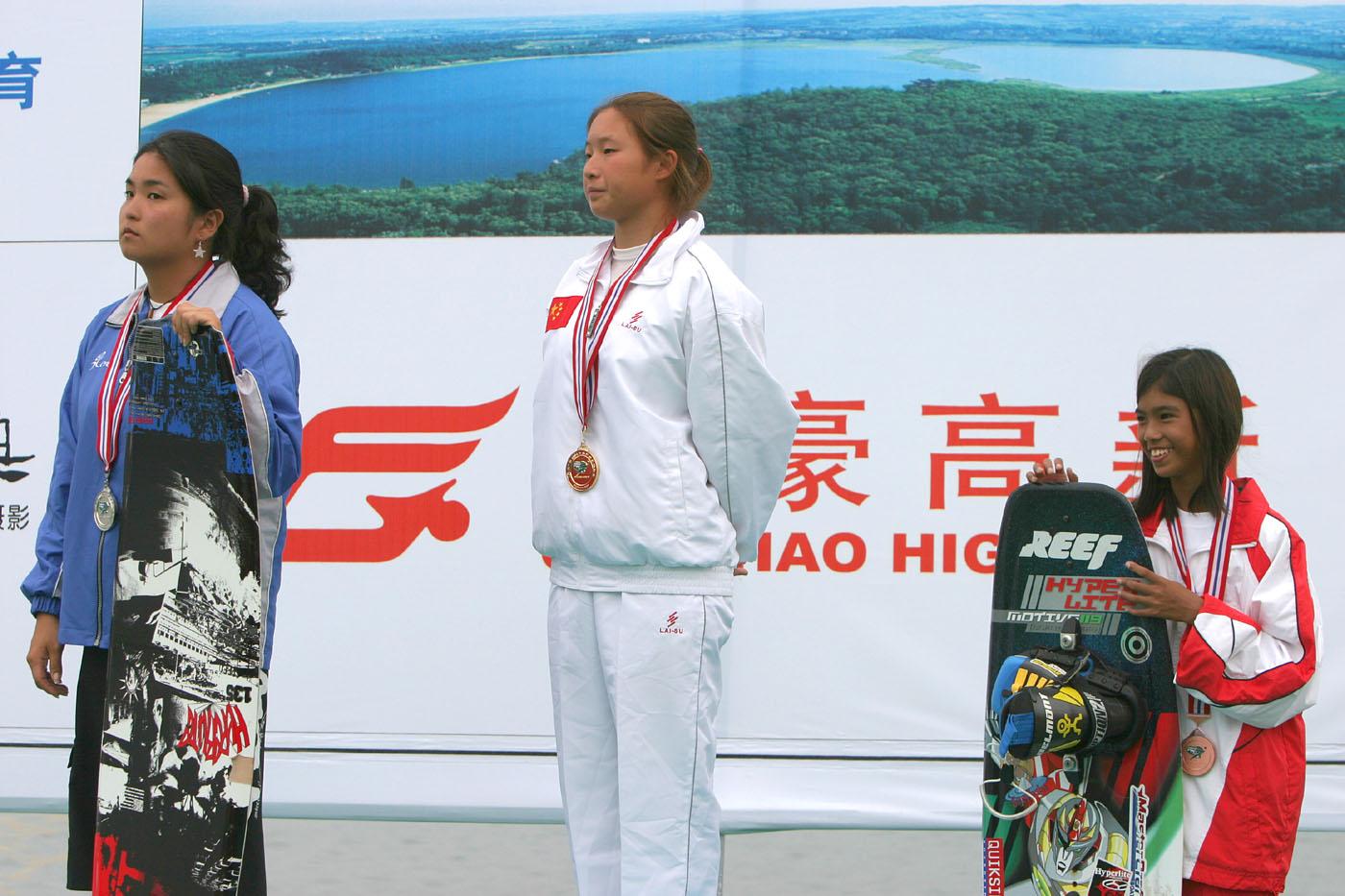 Sasha Bronze 2004 Asian Champs